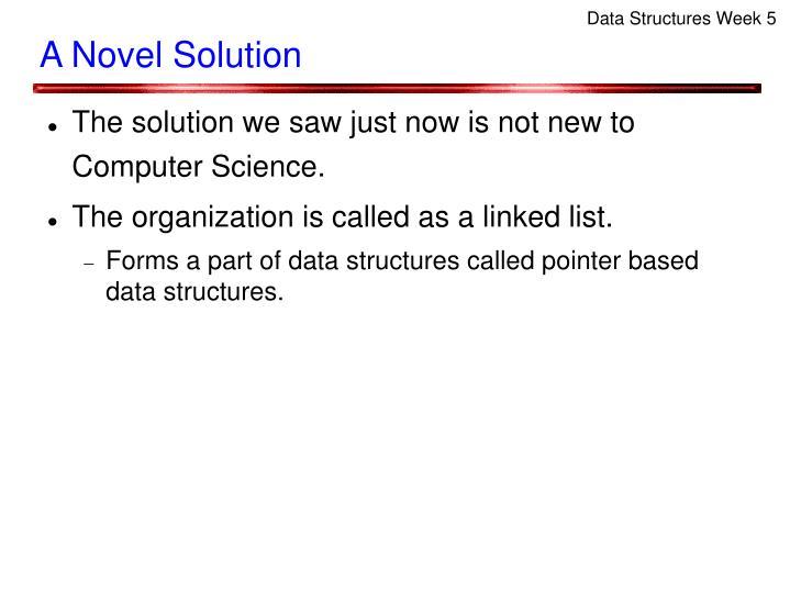 Data Structures Week 5
