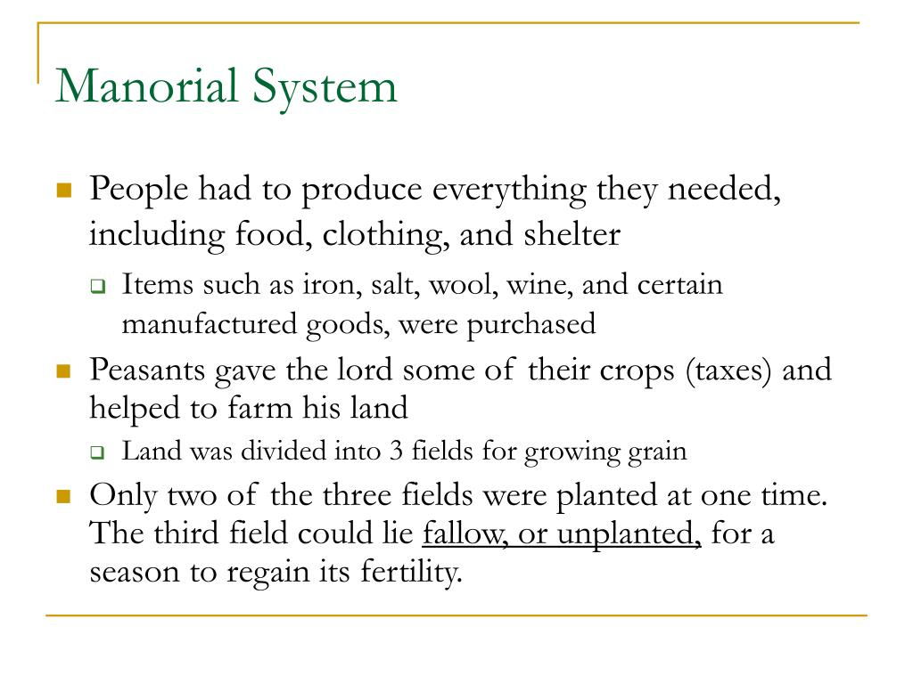 PPT - Feudalism and Manorialism PowerPoint Presentation ...