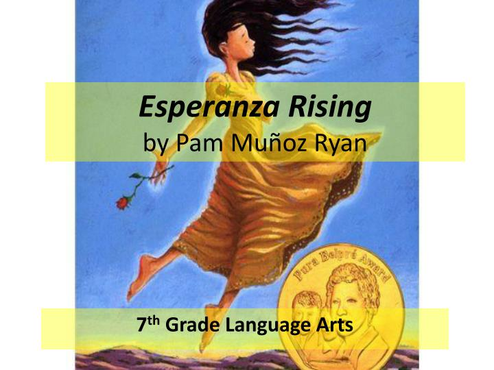 an analysis of esperanza rising by pam munoz ryan Esperanza rising by  in 1930, esperanza lives a privileged life on a ranch in aguascalientes, mexico  more by pam muñoz ryan children yo ho ho, halloween.