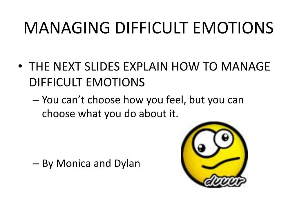 define debilitative emotions