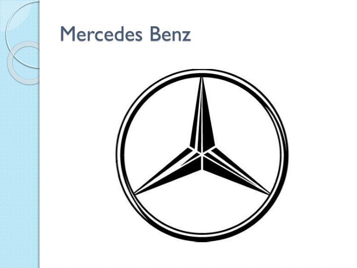 Ppt logo design powerpoint presentation id 5518384 for Mercedes benz target market