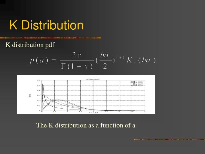 K Distribution