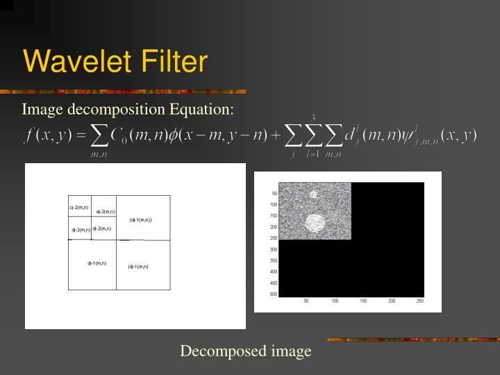 Wavelet Filter