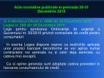 acte normative publicate in perioada 30 31 decembrie 20102
