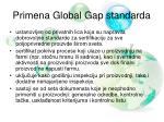 primena global gap standarda