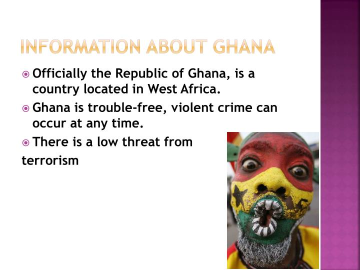 Information about ghana