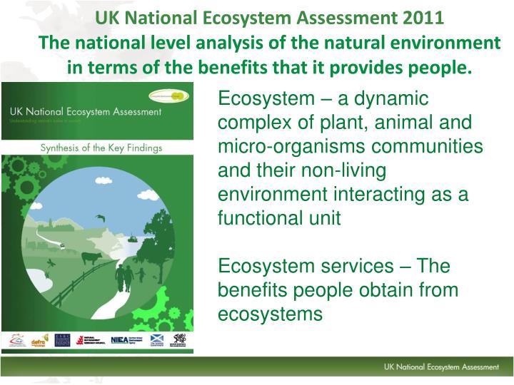 UK National Ecosystem Assessment 2011