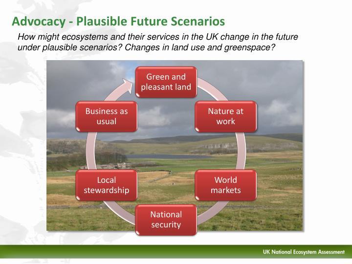 Advocacy - Plausible Future Scenarios