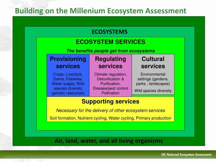 Building on the Millenium Ecosystem Assessment
