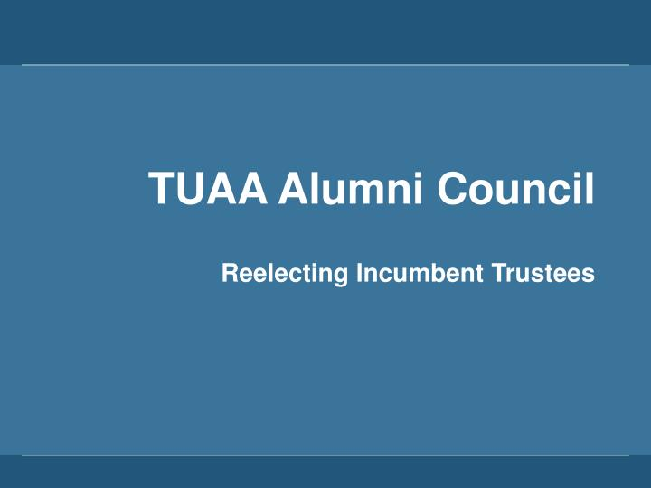 TUAA Alumni Council