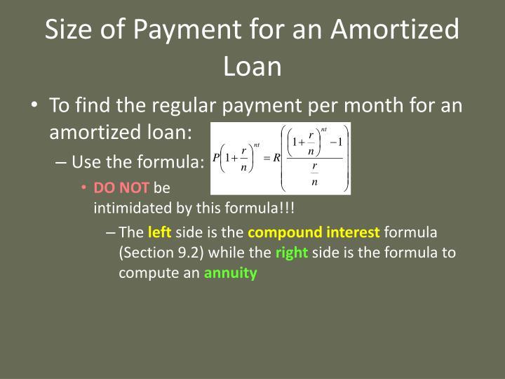 ppt - amortization powerpoint presentation
