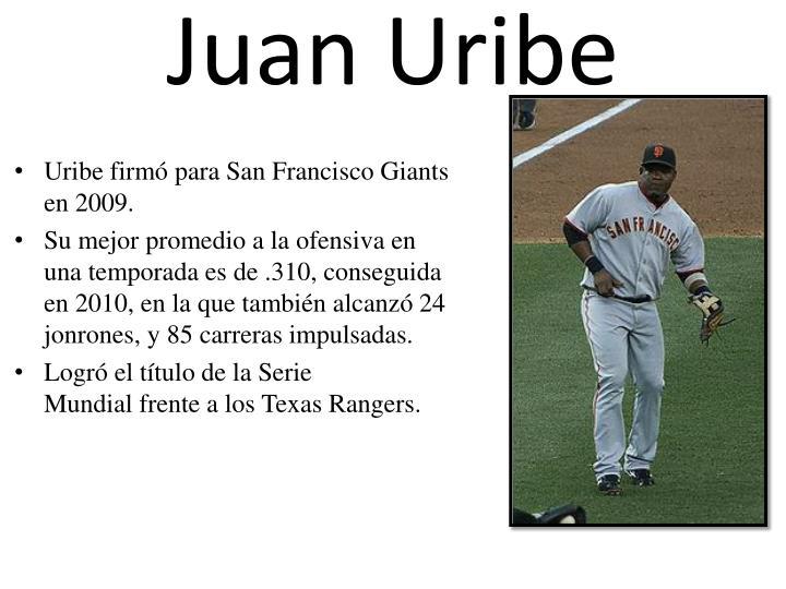 Juan Uribe