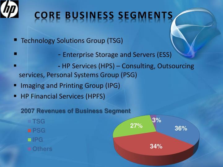 Core Business Segments