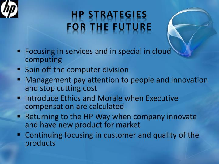 HP strategies