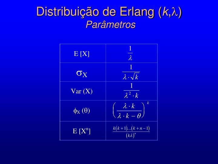 Distribuição de Erlang (