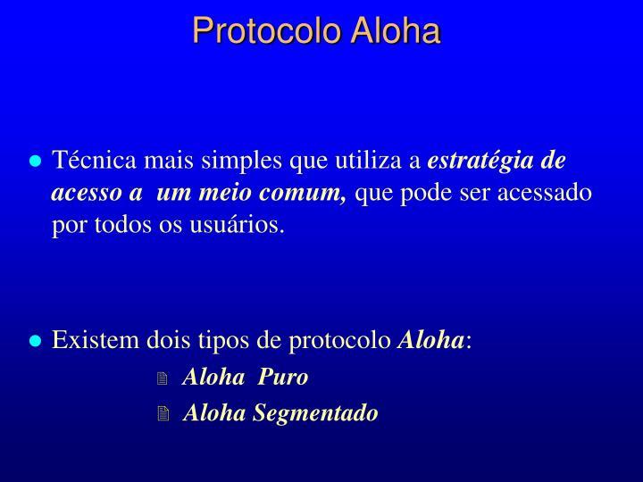 Protocolo aloha2