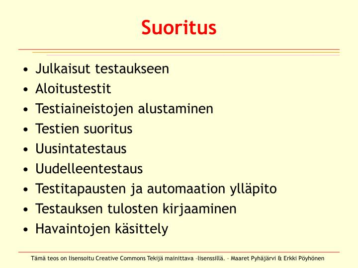 Suoritus