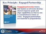 key principle engaged partnership