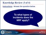 knowledge review 3 of 4