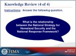 knowledge review 4 of 4