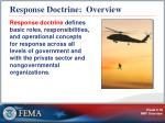 response doctrine overview