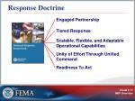 response doctrine