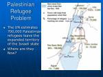 palestinian refugee problem
