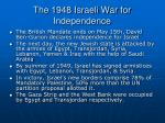 the 1948 israeli war for independence1