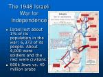 the 1948 israeli war for independence2