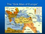 the sick man of europe