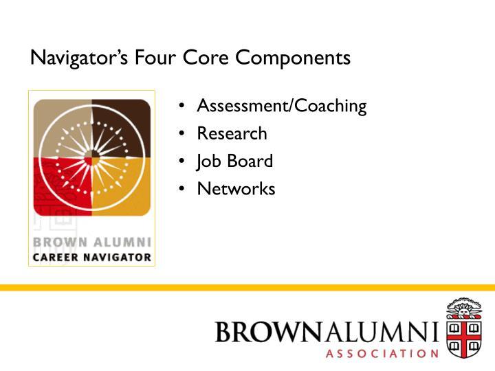 Navigator's Four Core Components