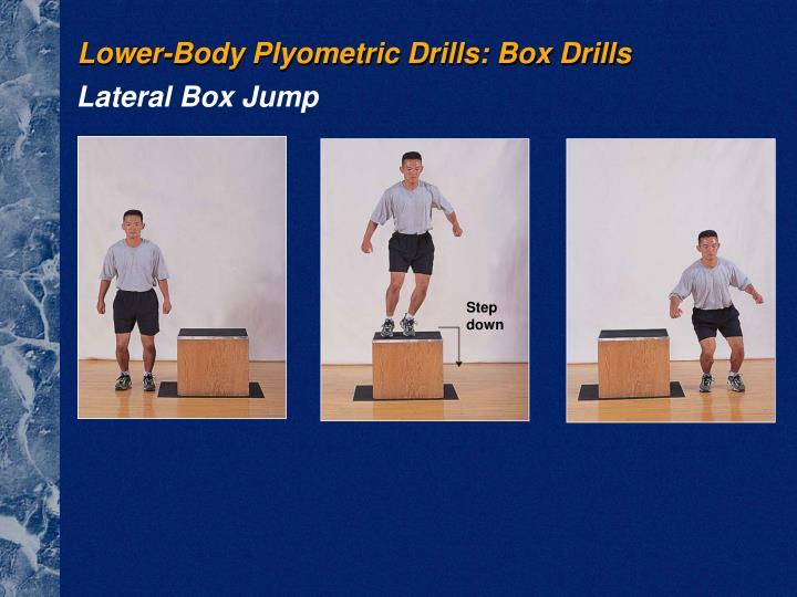 Lower-Body Plyometric Drills: Box Drills