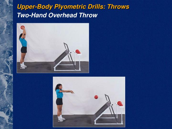 Upper-Body Plyometric Drills: Throws