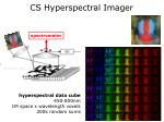 cs hyperspectral imager