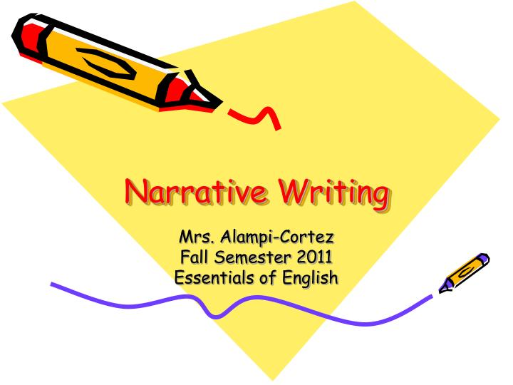 narrative essay powerpoint