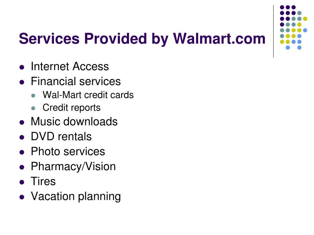 PPT - Wal-Mart Goes Online PowerPoint Presentation - ID ...