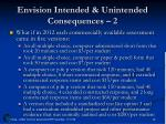 envision intended unintended consequences 2