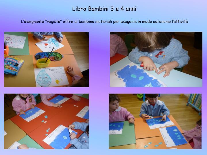 Libro Bambini 3 e 4 anni