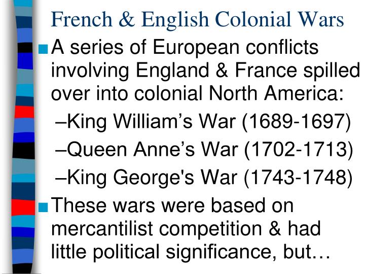 change in colonial relationship with britain after french and indian war The british victory in the french and indian war had a great impact on the british   english leaders that the colonies needed a major reorganization and that the   after having been held back by the french, now saw themselves stopped by.
