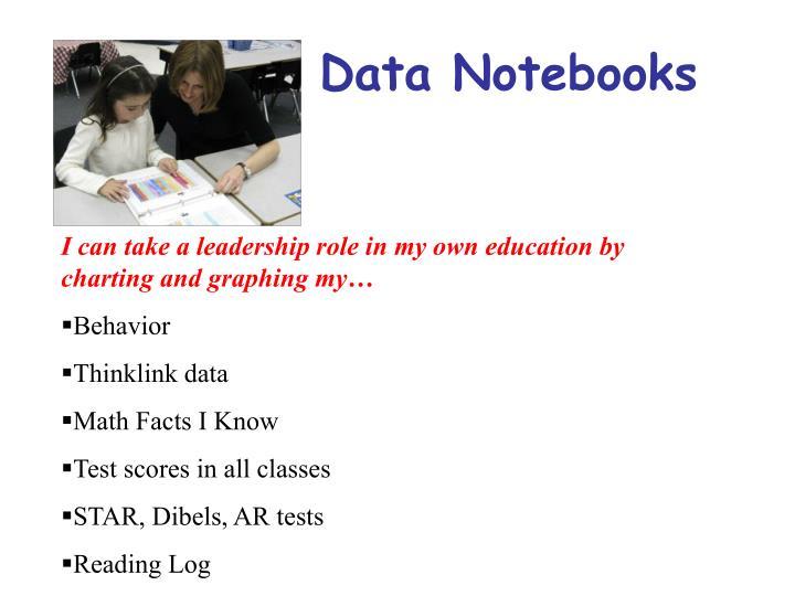 Data Notebooks