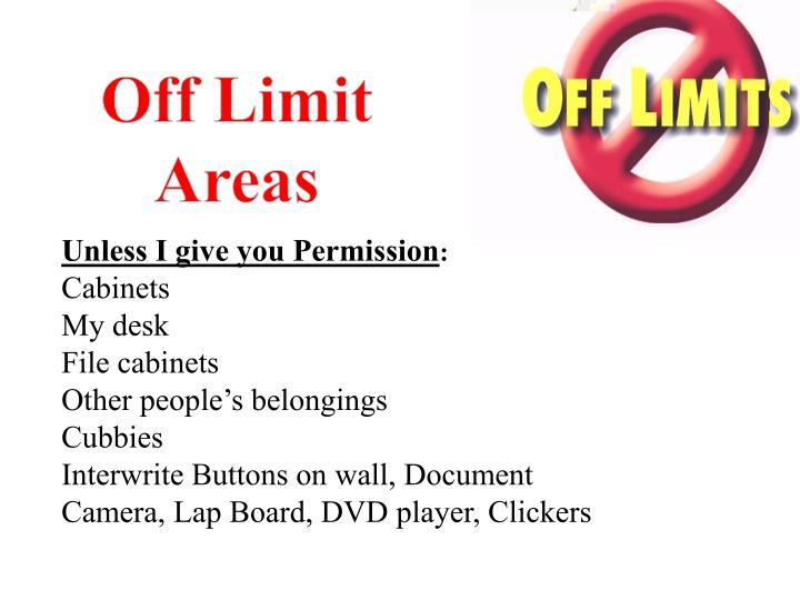 Off Limit