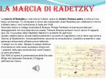 la marcia di radetzky