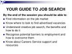 your guide to job search1