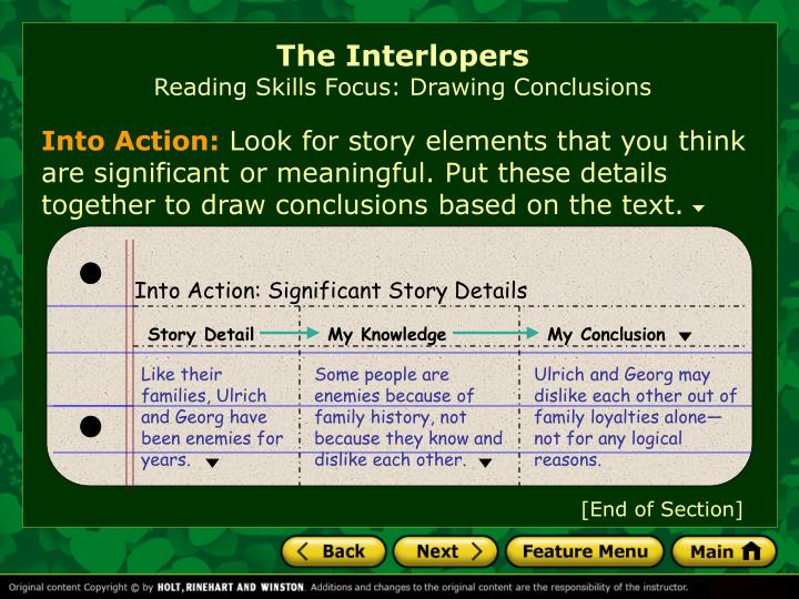 a literary analysis of the interlopers by saki Get all the key plot points of saki's the interlopers on one page  the interlopers summary from litcharts | the creators of sparknotes  analysis, and citation.