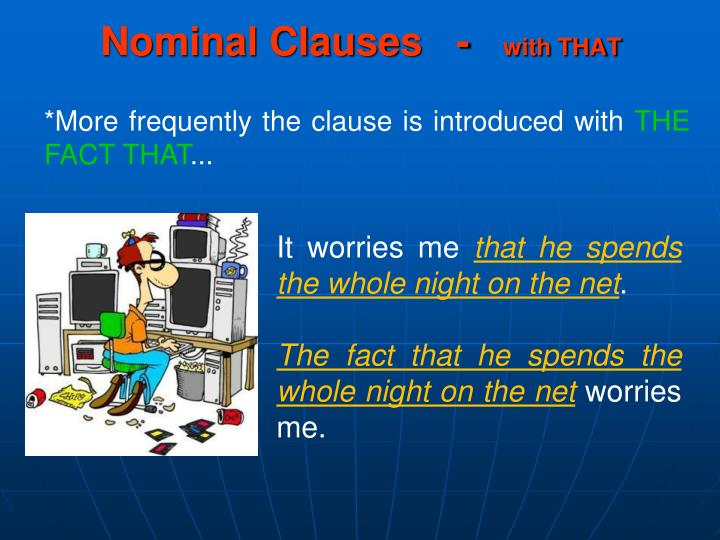 nominal clause