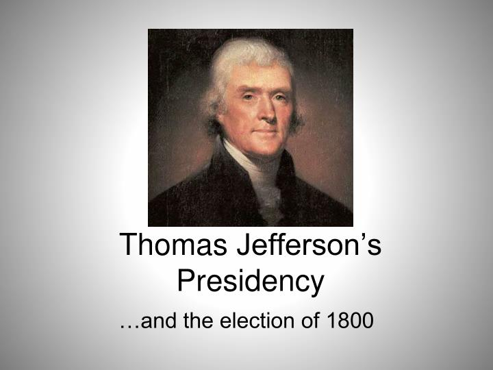 a biography of thomas jefferson an american politician American biography – thomas jefferson (1743 -1826) jefferson was born on his father's plantation on the western frontier of virginia his father was a wealthy.