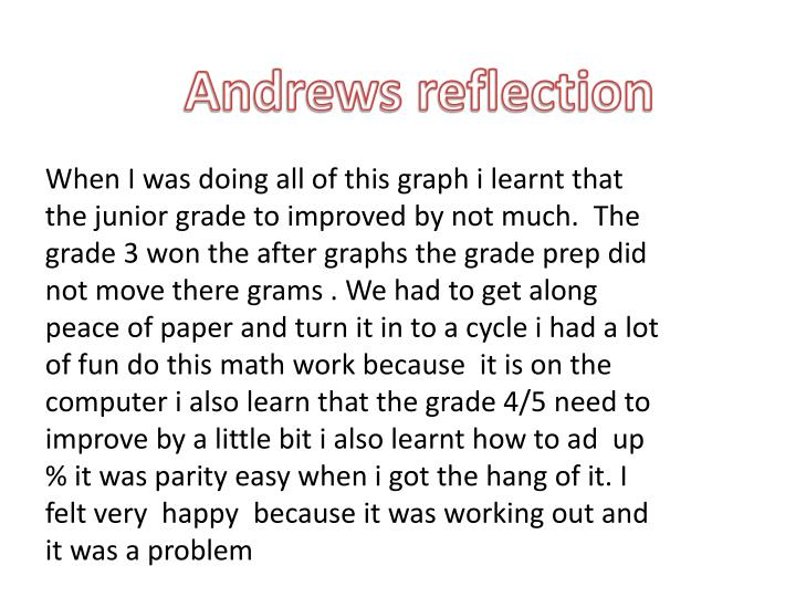 Andrews reflection