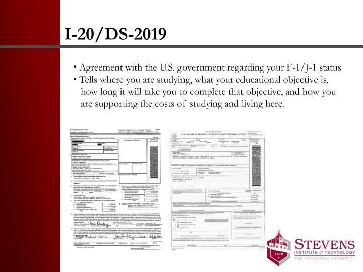 I-20/DS-2019