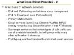 what does esnet provide 2