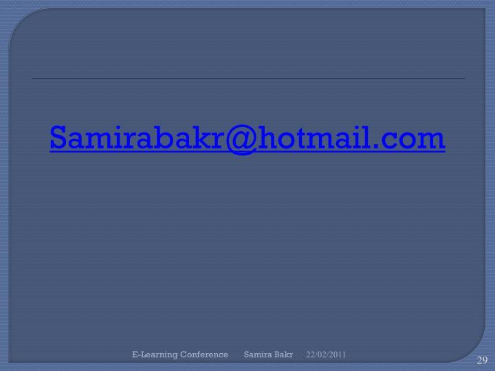 Samirabakr@hotmail.com